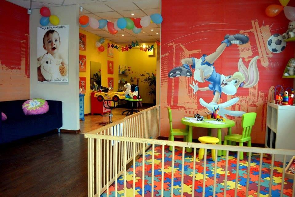 Best Kids Hair Salon : Salon Retro: Salon decoration retro pop art style. Contemporary hair ...
