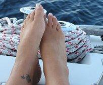 1. Odpowiedni relaks nóg (fot. foter.com)