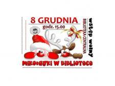 Mikołaj do żorskiej biblioteki zawita 8, a nie 6 grudnia (fot. mat. biblioteki)