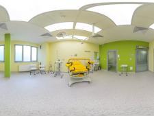 Nowoczesne pokoje porodowe czekają na nowe, przyjazne nazwy (fot. mat. Centrum Zdrowia Kobiety i Dziecka)