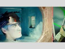 """Spektakl """"Cyberbajarz"""" (fot. mat. Teatru Gry i Ludzie)"""