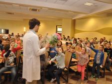 Wykłady na Uniwersytecie Dziecięcym (fot. materiały WSB)