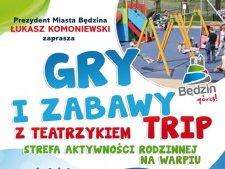 Aktorzy Teatru Trip wystawią przedstawienie podczas festynu w Będzinie (fot. mat. organizatora)