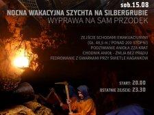 Wakacyjna Szychta to niezwykłe nocne zwiedzanie Kopalni Srebra w Tarnowskich Górach (fot. mat. organizatora)