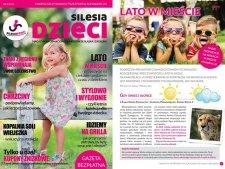 """W drugim numerze kwartalnika """"Silesia Dzieci"""" przeczytacie m.in. o tym jak ciekawie spędzać lato w mieście (fot. materiały Silesii Dzieci)"""