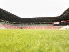Nowoczesny Stadion Miejski w Tychach pomieści 15 tys. kibiców (fot. mat. UM Tychy)