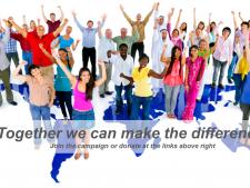 """Nasz kraj w kampanii """"Toghether we can make the difference!"""" będzie reprezentować Wydział Zdrowia sosnowieckiego Urzędu Miasta (fot. materiały organizatora)"""