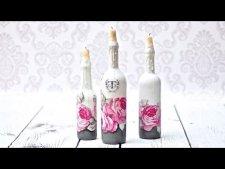 Embedded thumbnail for Ozdobne świeczniki z butelek