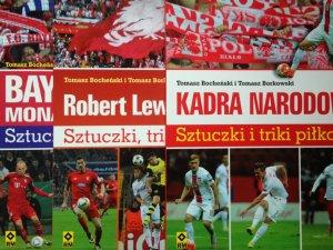 Mamy dla Was aż 5 książek o tematyce piłkarskiej (fot. Ewelina Zielińska)