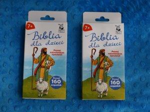 """Mamy dla Was dwa egzemplarze """"Biblii dla dzieci"""" od Kapitana Nauki (fot. Ewelina Zielińska)"""