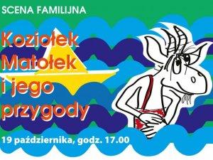 Przygody Koziołka Matołka najmłodsi zobaczą na scenie Beceku (fot. mat. organizatora)