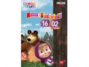 Masza to jedna z ulubionych bohaterek kreskówek (fot. mat. kina Helios)