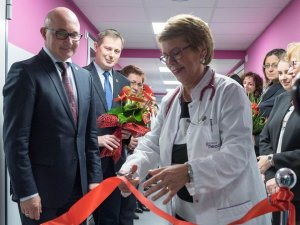 Wyremontowano oddział niemowlęcy w Zespole Szpitali Miejskich w Chorzowie (fot. mat. prasowe)