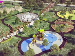 Ogród jordanowski w parku im. Jacka Kuronia będzie gotowy już jesienią (fot. mat. UM Sosnowiec)