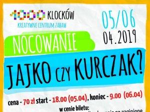 Nocowanie, pełne zabaw wielkanocnych, odbędzie się z 5 na 6 kwietnia (fot. mat. organizatora)