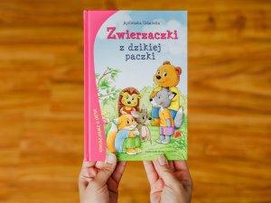 """""""Zwierzaczki z dzikiej paczki"""" to bajki o zwierzętach autorstwa Agnieszki Urbańskiej (fot. Ewelina Zielińska)"""