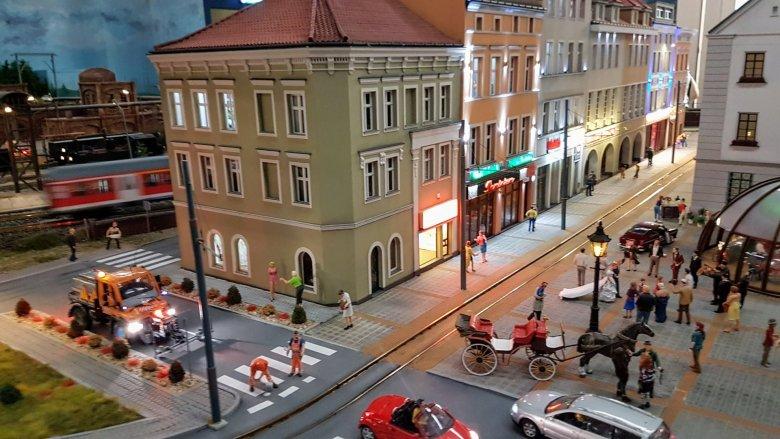 W Kolejkowie odwzorowano z najmniejszymi detalami śląskie miasta (fot. mat. organizatora)