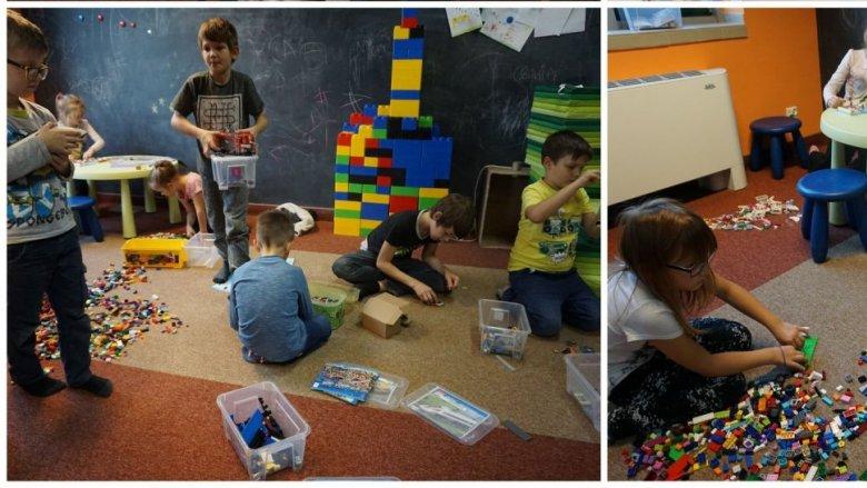Budowanie z klocków LEGO to jedna z ulubionych zabaw mniejszych i starszych dzieci (fot. mat. organizatora)