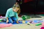 Podczas sobotnik targów dizajnu odbyło się też wiele warsztatów dla dzieci (fot. Zdzisława Górska-Nieć)