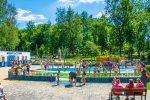 Wodny Plac Zabaw znajduje się przy os. Warpie w Będzinie (fot. archiwum FB miasta Będzin)