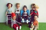 Wśród przerabianych lalek nie brakuje też egzemplarzy dla chłopców (fot. Ignatow Repainted Dolls)