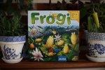 """""""Frogi"""" to rodzinna gra logiczna od wydawnictwa Granna (fot.Ewelina Zielińska)"""