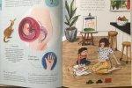 Książka zachwyci każdą przyszłą i obecną mamę, a i dzieci nie będą się przy niej nudzić (fot. Ewelina Zielińska/SilesiaDzieci.pl)