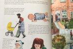Barwne i urocze ilustracje świetnie uzupełniają informacje zawarte w książce (fot. Ewelina Zielińska/SilesiaDzieci.pl)