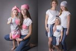 """""""Tacy sami"""" to linia ubranek firmy Super Gizd - takie same dla mamy i dla dziecka (fot. materiały marki Super Gizd)"""