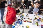 Na zabawę klockami Lego Education zaprosiło Centrum Edukido (fot. Katarzyna Szawińska)