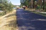 Trasa wokół jeziora to idealna propozycja na rodzinne spacery. (fot. mat. Fb Zalew Nakło-Chechło)