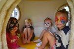 Na niepowtarzalne makijaże podczas zabawy sylwestrowej mogą liczyć dzieci w katowickiej sali zabaw Kraina Czarów (fot. mat. bawialni)