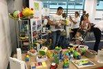 Dużą popularnością cieszyło się stoisko Fundacji Iskierka (fot. mat. SilesiaDzieci.pl)