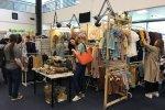 Wśród wystawców były też StrojMisie - ręcznie wykonane ubranka i dodatki dla dzieci (fot. mat. SilesiaDzieci.pl)
