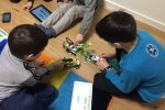 W Mikołowie Centrum Kreatywnej Edukacji RoboKids zorganizuje warsztaty konstruowania robotów z klocków LEGO (fot. mat. RoboKids)