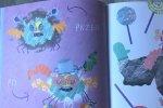 W książce znajdziemy rysunki Poli (fot. mat. Ewelina Zielińska /SilesiaDzieci.pl)