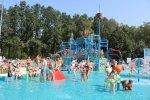 Basen i wodny plac zabaw znajdziecie przy ul. Olimpijskiej 3 w Piekarach Śląskich (fot. mat UM Piekary Śląskie)