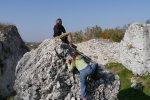 Wspinanie się po skałkach to nie lada atrakcja (fot.dok)