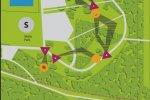 Fragment mapy pola - całość na stronie Parku Śląskiego (fot. materiały Parku)