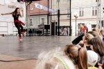 Na pokazy i warsztaty taneczne zaprosiły dzieciaki z Tito Dance Studio (fot. Kasper Szwaja)