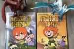 """""""Strzeżcie się olbrzymy"""" oraz """"Strzeżcie się smoki"""" to dwa pierwsze tomy serii (fot. mat. Ewelina Zielińska/SilesiaDzieci.pl)"""