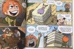 Komiks jest pełen przygód i śmiechu (fot. mat. Ewelina Zielińska/SilesiaDzieci.pl)