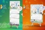Kalendarze kosztują 30 i 20 zł. Ich dochód pomoże podopiecznym Śląskiego Hospicjum dla Dzieci Świetlikowo (fot. mat. Fundacji)