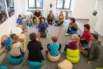 Muzykodrom to nowe, niezwykłe miejsce dla dzieci, które wypełnione jest muzyką (fot. mat. organizatora)