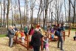 Przy okazji budowy tężni powstał mały plac zabaw (fot. mat. Fb Budżet Obywatelski Katowice)