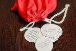 96 pytaków w czerwonym woreczku - to prosty pomysł na spędzenie czasu z rodziną (fot. Ewelina Zielińska)