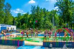 Wodny Plac Zabaw w Będzinie funkcjonuje już drugi sezon (fot. mat. archiwum miasta Będzin)