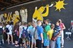 Uczestnicy projektu na wycieczce do Katowic szlakiem murali (fot. A. Szozda)