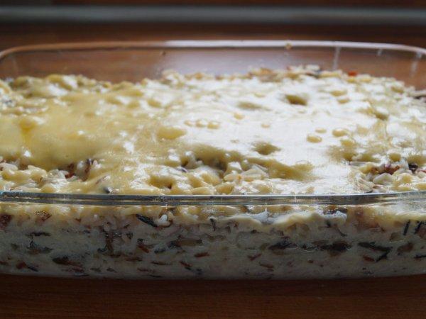 Prosty i smaczny przepis na zapiekankę z rybą i ryżem (fot. mat. Silesia Dzieci)