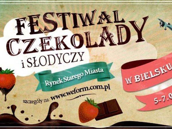 Czekoladowe szaleństwo odbędzie się na Starym Rynku w Bielsku-Białej (fot. mat. organizatora)